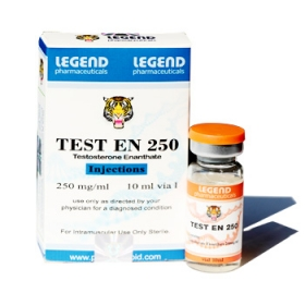 TEST EN 250 (Testosterone Enanthate 250mg/ml) 5 vial